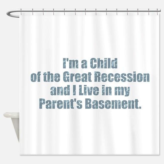 Parent's Basement Shower Curtain