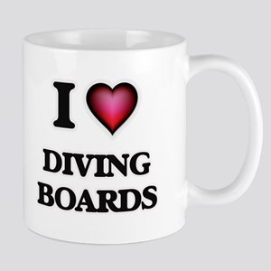 I love Diving Boards Mugs