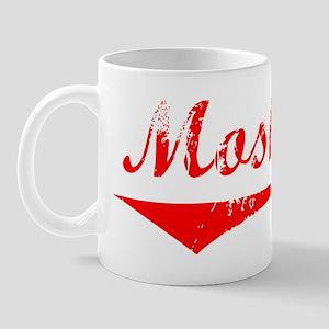 Moshe Vintage (Red) Mug