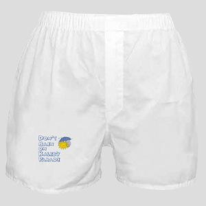 Don't Rain On Kaleb's Parade Boxer Shorts