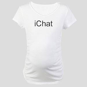 iChat Maternity T-Shirt