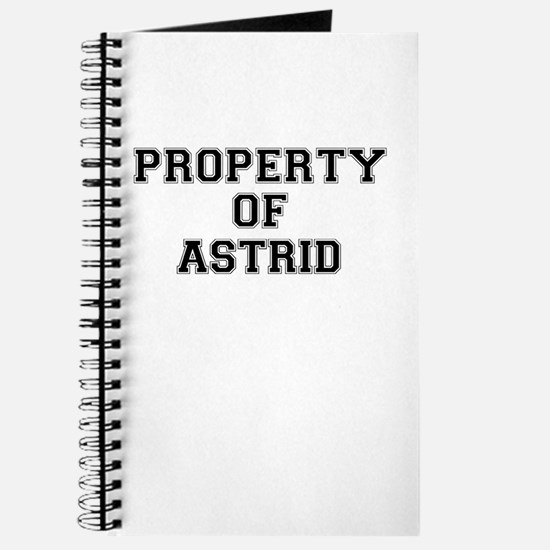 Property of ASTRID Journal