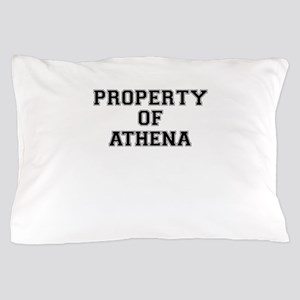 Property of ATHENA Pillow Case