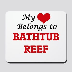 My Heart Belongs to Bathtub Reef Florida Mousepad