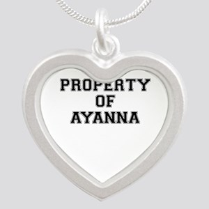 Property of AYANNA Necklaces