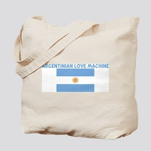 ARGENTINIAN LOVE MACHINE Tote Bag