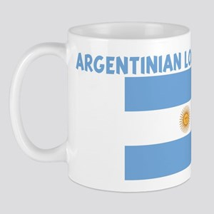 ARGENTINIAN LOVE MACHINE Mug