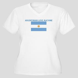 ARGENTINIAN LOVE MACHINE Women's Plus Size V-Neck