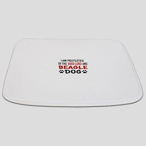 Protected By Beagle Bathmat