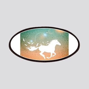 Freedom Horse Patch