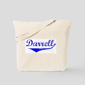 Darrell Vintage (Blue) Tote Bag