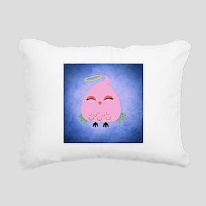 Angel Bird Rectangular Canvas Pillow