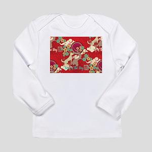 chinese new year dog Long Sleeve T-Shirt