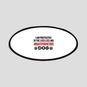 Protected By American Staffordshire Terrier Patch