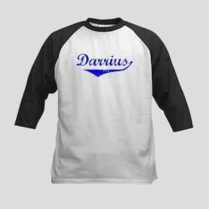 Darrius Vintage (Blue) Kids Baseball Jersey