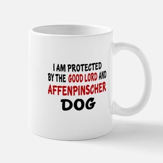 Protected By Affenpinscher Dog Mug