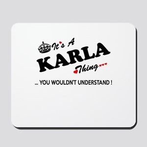 KARLA thing, you wouldn't understand Mousepad