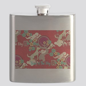 chinese new year dog Flask