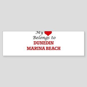 My Heart Belongs to Dunedin Marina Bumper Sticker