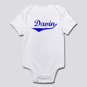 Davin Vintage (Blue) Infant Bodysuit