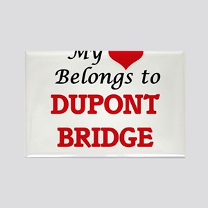 My Heart Belongs to Dupont Bridge Florida Magnets