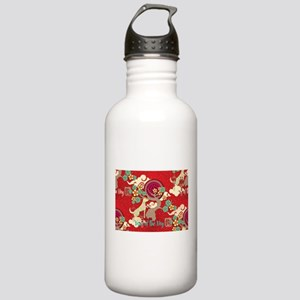 chinese new year dog Stainless Water Bottle 1.0L