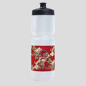 chinese new year dog Sports Bottle