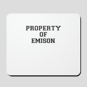 Property of EMISON Mousepad