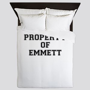 Property of EMMETT Queen Duvet