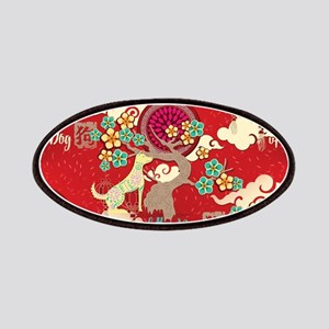 chinese new year dog Patch