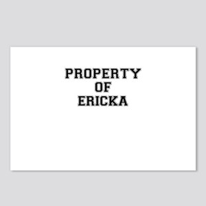 Property of ERICKA Postcards (Package of 8)