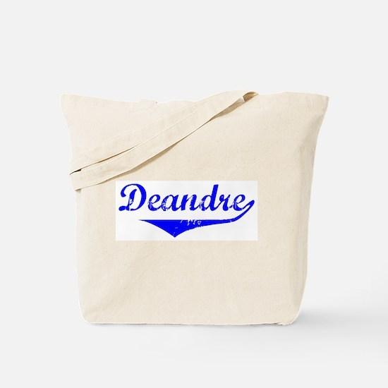 Deandre Vintage (Blue) Tote Bag