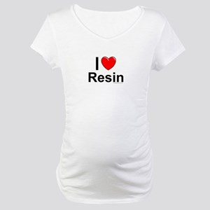 Resin Maternity T-Shirt