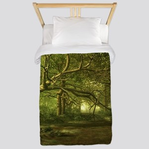 Enchanted Forest Twin Duvet Cover