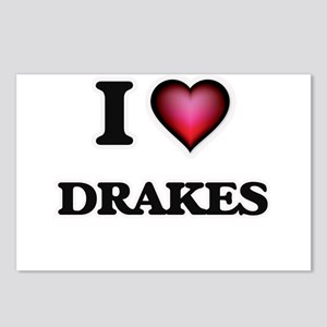 I love Drakes Postcards (Package of 8)