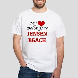 My Heart Belongs to Jensen Beach Florida T-Shirt