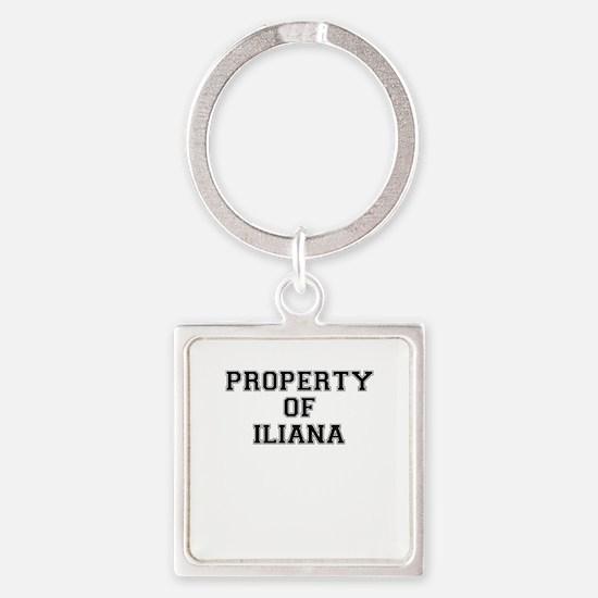 Property of ILIANA Keychains