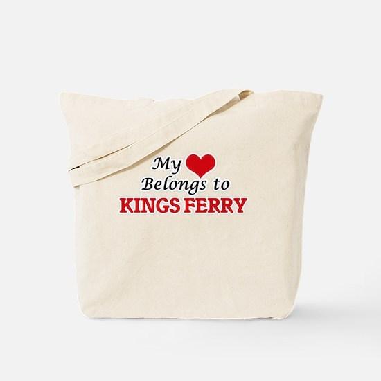 My Heart Belongs to Kings Ferry Georgia Tote Bag