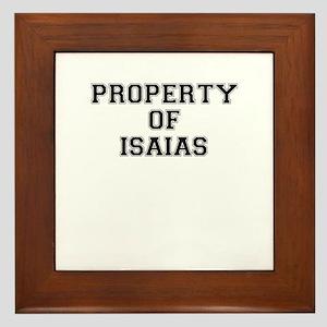 Property of ISAIAS Framed Tile