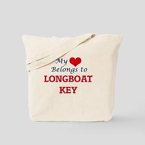 My Heart Belongs to Longboat Key Florida Tote Bag