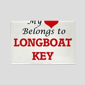 My Heart Belongs to Longboat Key Florida Magnets