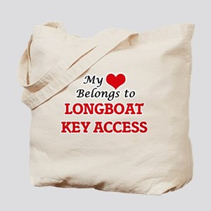 My Heart Belongs to Longboat Key Access F Tote Bag