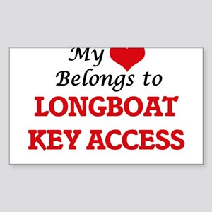 My Heart Belongs to Longboat Key Access Fl Sticker