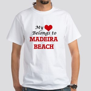 My Heart Belongs to Madeira Beach Florida T-Shirt