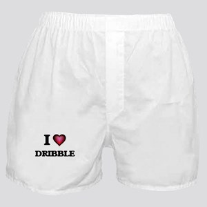 I love Dribble Boxer Shorts