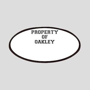 Property of OAKLEY Patch