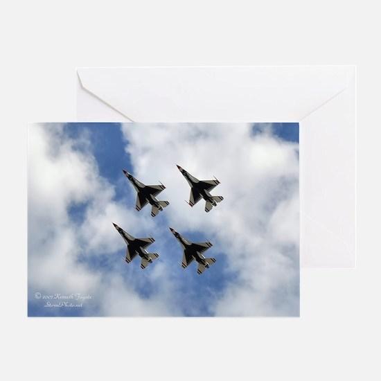 USAF Card Greeting Cards