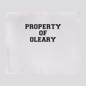 Property of OLEARY Throw Blanket