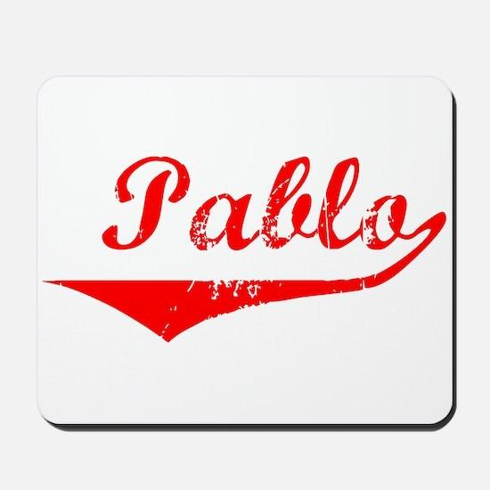 Pablo Vintage (Red) Mousepad