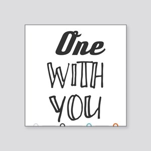 One with You. Sticker